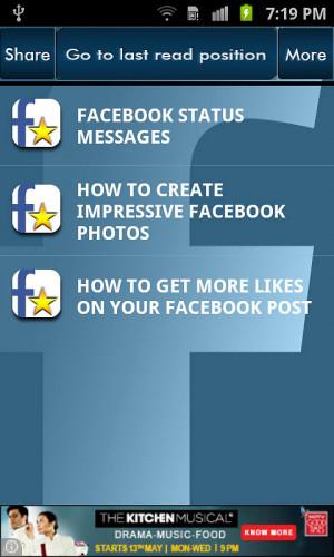 Facebook Funny Status Updates
