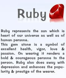 quotes about rubies the gem quotesgram