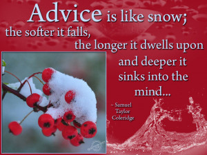 Advice Quotes Graphics, Pictures