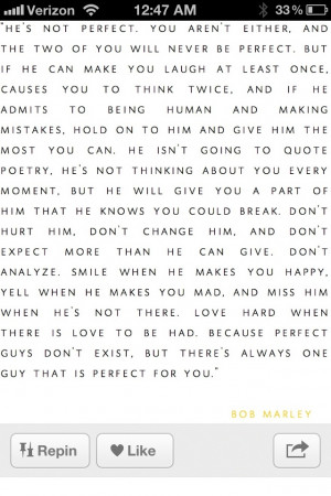 Finding the perfect guy for you