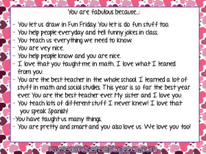 Teacher Appreciation Thank You Quotes Our hearts and teacher love