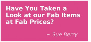 This quote from Sue Berry is courtesy of @Pinstamatic (http ...