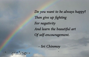 ... Ways To Get Out of a Negative Mindset | Sri Chinmoy Inspiration