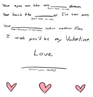 Fill-In-The-Blank Love Poem by Wilhorse