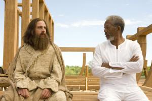... Morgan Freeman as Evan Baxter in Universal Pictures' Evan Almighty