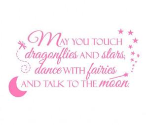 quote poem saying boy girl fairies princess dragonflies moon stars ...