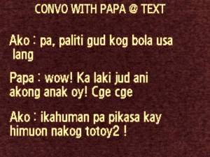 Bisaya Jokes, Quotes and Pick-up Lines's Photos