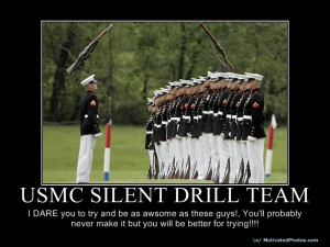 USMC Silent Drill Team Image