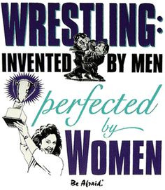 ... - would be better with a girl wrestler included in the image