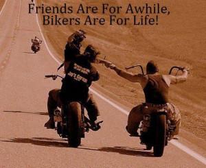 FRIENDS vs. BIKER FRIENDS