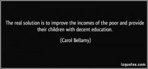 Carol Bellamy's Quotes