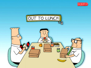 QUESTION: How often do you eat lunch out?