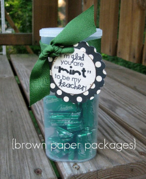 Cute Teacher Gift Ideas for the First Day of School