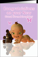 congratulations becoming a Great Grandmother card - Product #428044