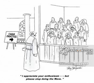 choir practice cartoons, choir practice cartoon, funny, choir practice ...