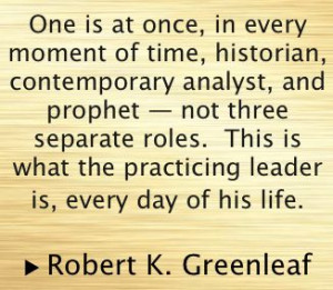 Servant Leadership - Robert K. Greenleaf