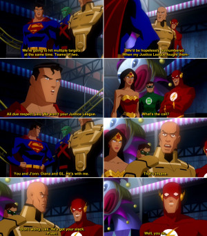 Justice League Crisis on Two Earths Quote-3 | Movie & Comics Quotes
