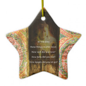 Inspirational Buddha quote about forgiveness Ornaments