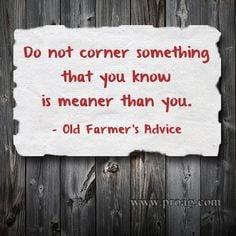 Old Farmer's Quotes http://www.pinterest.com/ilcorn/agriculture-quotes ...