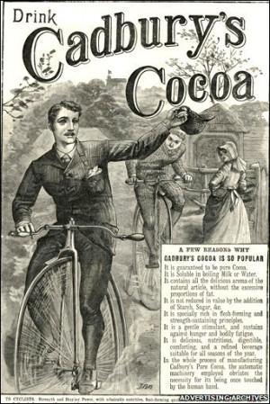 Iklan Pertama Cadbury
