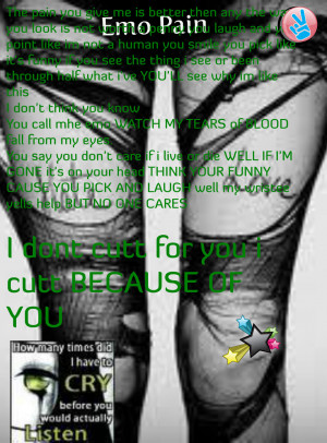 Emo Quotes About Pain Emo pain graphics code ments