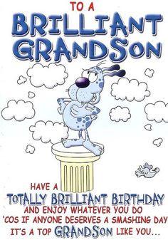 happy birthday. grandson | Happy Birthday Wishes Grandson ...