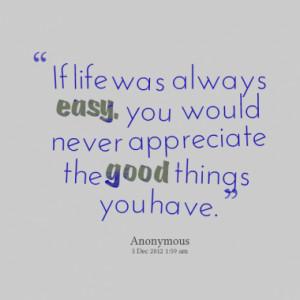 learn to appreciate life essay