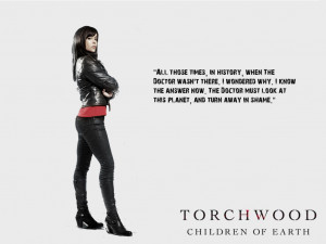 ... Torchwood: Children of Earth - Gwen wallpaper (