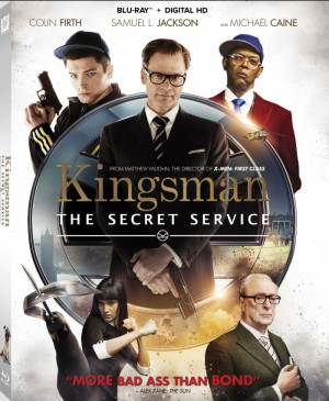 Kingsman: The Secret Service (US - DVD R1 | BD RA)