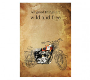 TRIUMPH MOTORCYCLE quote -