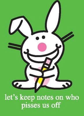 Happy Bunny™ Daily Pics.