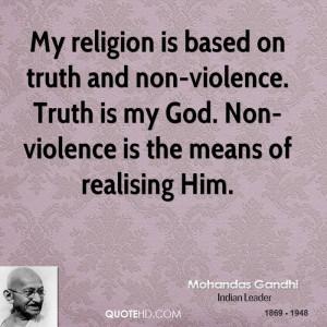 Gandhi Quotes Truth Is God ~ Mohandas Gandhi Quotes | QuoteHD
