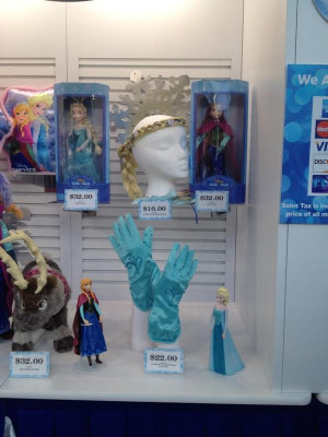 Frozen at Disney On Ice Merchandise