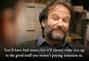 ... be equations and shit on the wall. Chuckie, Good Will Hunting