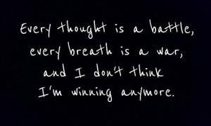 Fighting Depression Quotes Image