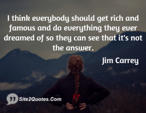 Life Quotes - Jim Carrey