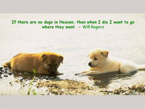 Quotes about Dogs and People