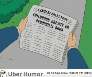 Was watching American Dad last night, this made me snarf my milk…
