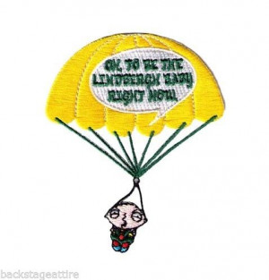 Family Guy Stewie Lindenbergh Quote Funny Sew/Iron-On Patch Badge Fast ...