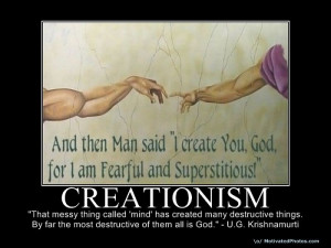 We will take a look at the emotional fears that drive theCreationists ...