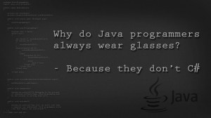 Java Programmer Wallpaper Why do java programmers always