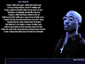 Short Tupac Quotes For Tattoos Poetry Written By Tupac Shakur Quote