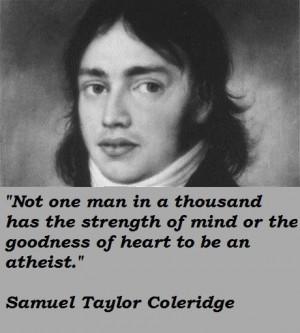 Samuel taylor coleridge famous quotes 4