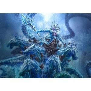 Poseidon Greek God Statue