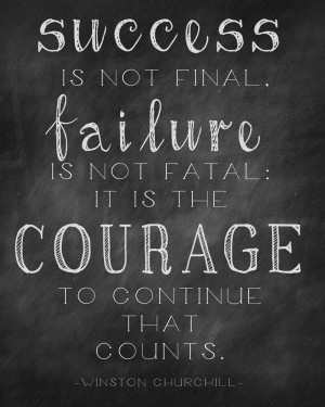 """Free """"Courage"""" Quote Printable"""