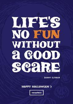 poster de hoje é de um trecho de This is Halloween, de Danny Elfman ...