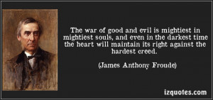Good Vs Evil Quotes Between good and evil as
