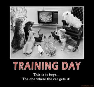 Motivational Training Posters on Training Day Video Seminars ...