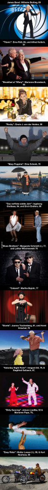 Nursing home dresses senior citizens up in famous classic movie roles ...