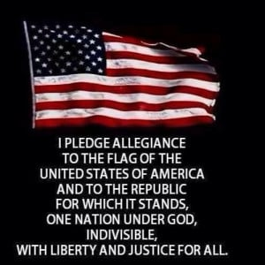 America, God Shed His Grace On Thee!!